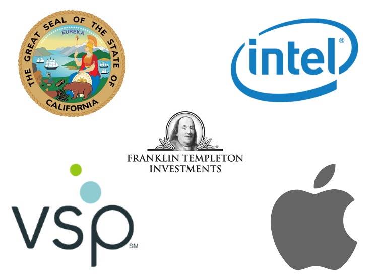 Some of the largest employers in Sacramento.